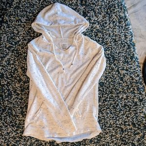 White Heather Hoodie